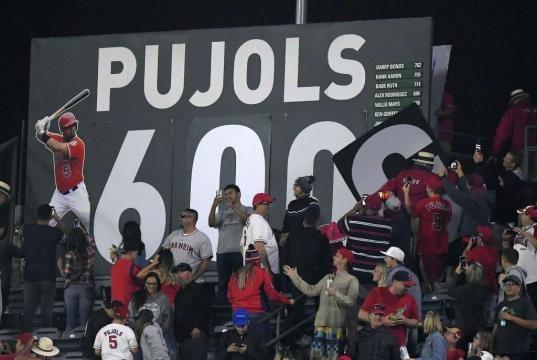 Albert Pujols hits 600th career homer; 9th to join club - Times Union - timesunion.com