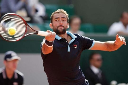 Cilic will look to put Wawrinka under pressure early in their quarter final match ... - Picture courtesy of stamfordadvocate.com