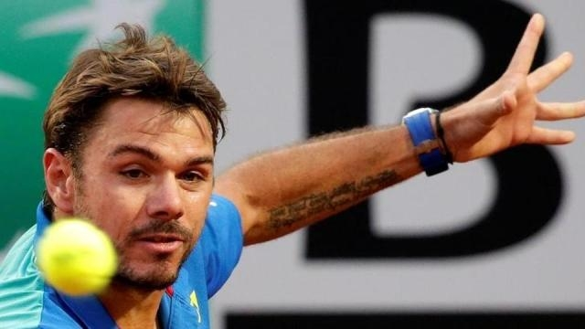 Stan Wawrinka is progressing nicely at the French Open ... - Picture courtesy of hindustantimes.com