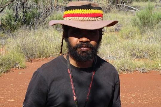 Clinton's walk for justice: The man walking across Australia for ... - net.au