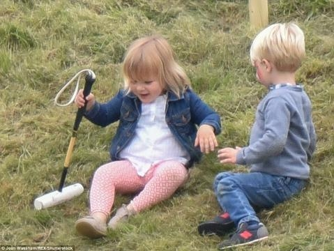 Prince Harry cheers up Mia Tindall at Beaufort Polo Club in ... - ghanascoop.com