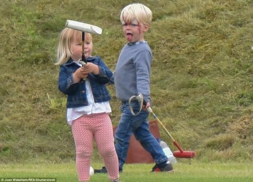Prince Harry plays with Mia Tindall at Beaufort Polo Club in ... - ghanagrio.com