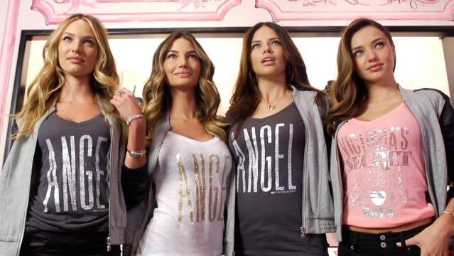 Angels Candice Swanepoel, Miranda Kerr, Lily Aldridge and Adriana ... - pinterest.com