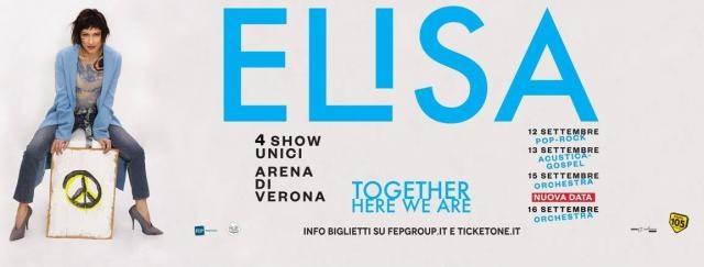 Elisa, banner ufficiale del