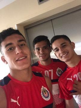 Zendejas, Benitez, Torres Canteranos Rojiblancos