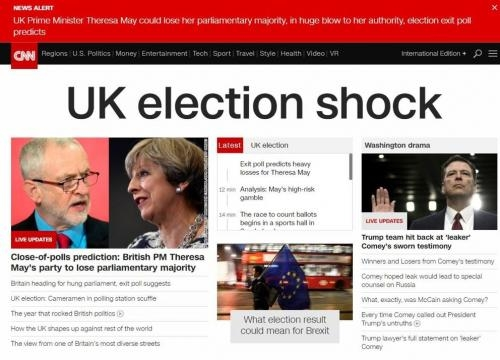 Le elezioni in Gran Bretagna, la notizia sui siti esteri - Corriere.it - corriere.it