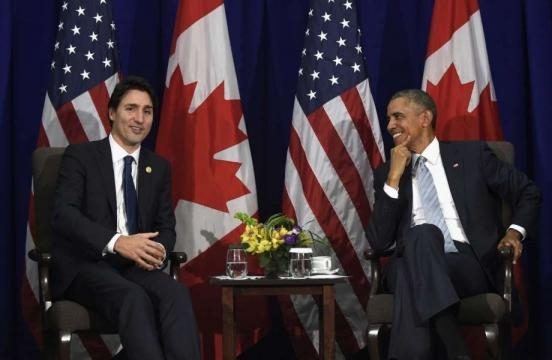 Obama has private dinner with Trudeau in Montreal - SFGate - sfgate.com