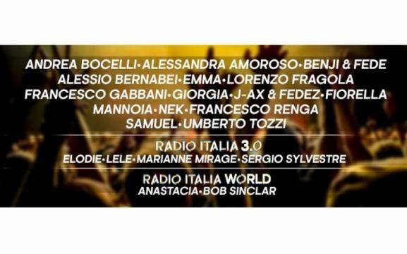 Radio Italia Live -Il Concerto- nel 2017 raddoppia l'appuntamento ... - nerospinto.it