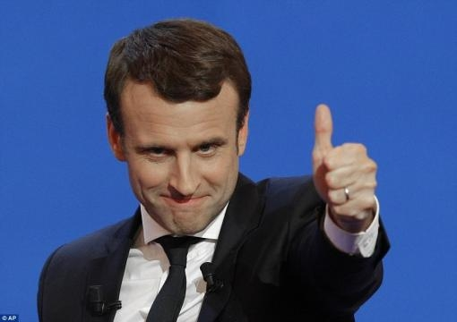 Macron 'to beat Le Pen with 61% of the vote in run-off' | Daily ... - dailymail.co.uk