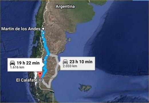 Patagonia Argentina, Neuquén, Río Negro, Chubut , Santa Cruz y Tierra del Fuego