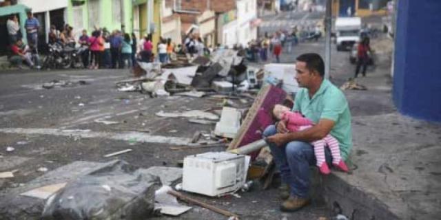 Crisis en Venezuela llega a niveles sin precedentes   Metro ... - metrord.do