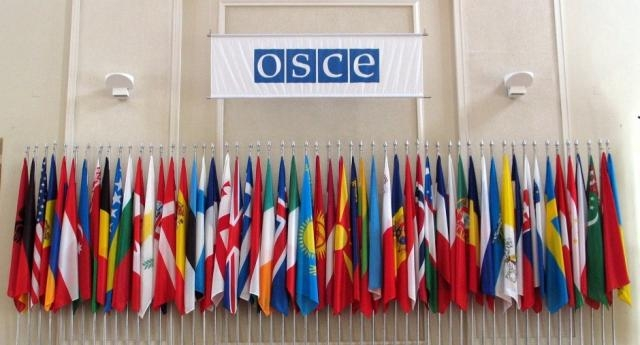 Premises of the OSCE, which is formed of 57 member states.