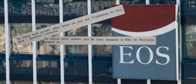 EOS Inkasso gehört zur Ottogroup und soll Schuldnern nicht nur mit Pfändungen drohen/Fotos: Ottogroup PR, privat (Montage)