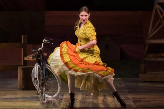 Emma Roos as Ado Annie Carnes in Rodgers and Hammerstein's 'Oklahoma!' Photo: Karli Cadel/The Glimmerglass Festival, used with permission.