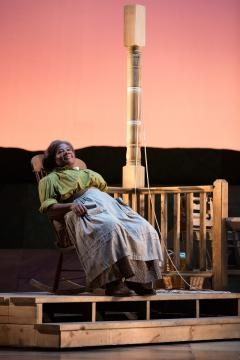 Judith Skinner is Aunt Eller Murphy in Rodgers and Hammerstein's 'Oklahoma!' Photo: Karli Cadel/The Glimmerglass Festival, used with permission.