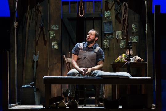 Michael Hewitt as Jud Fry in Rodgers and Hammerstein's 'Oklahoma!' Photo: Karli Cadel/The Glimmerglass Festival, used with permission.