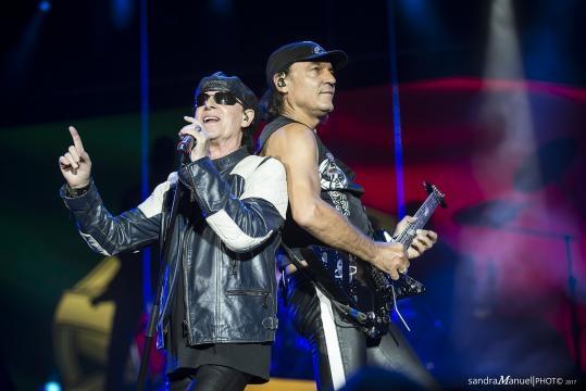 Os tão esperados Scorpions em Vila Nova de Gaia