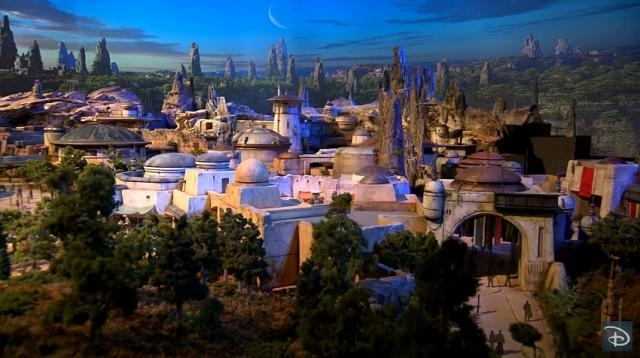 Photo land model of Disney's