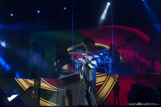 Scorpions demonstraram o carinho que têm por Portugal