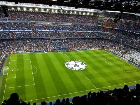Santiago Bernabeu Stadium Real Madrid CC BY