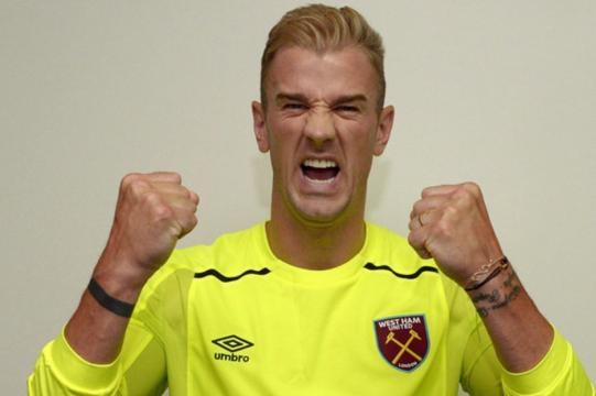 Cringe Joe Hart presentation for West Ham evokes memories of ... - cetusnews.com