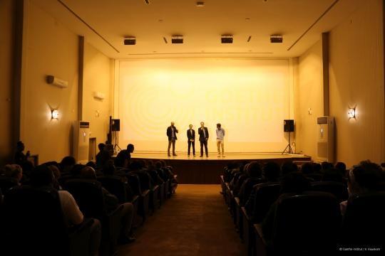 La salle comble lors de la projection (c) Institut Goethe Yaoundé