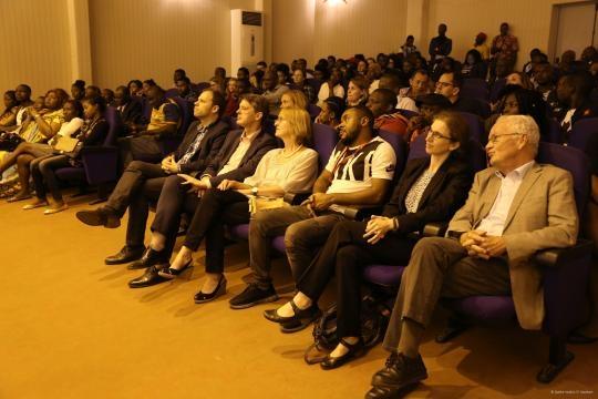 Le Public Venu nombreux lors de la projection (c) Institut Goethe Yaoundé