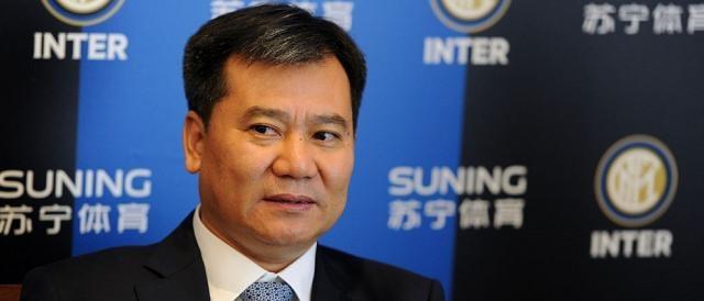L'imprenditore cinese Zhang Jindong, maggiore azionista dell'Inter da giugno 2016