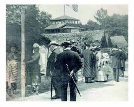 París, 1907, zoológico de humanos