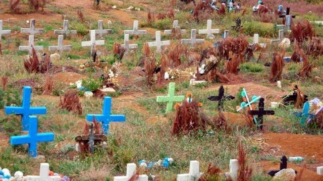 Cementerio de Cruces San Juan Chamula