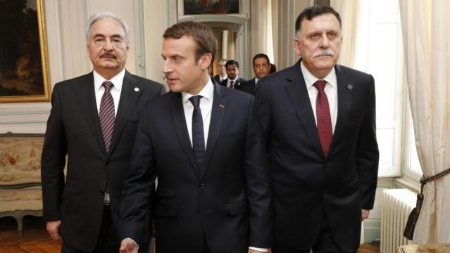 Sarraj e Haftar siglano la tregua Macron: ora la pace può vincere ... - lastampa.it