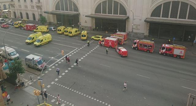 Rebajan a casi 40 la cifra de afectados por el accidente de tren ... - sputniknews.com