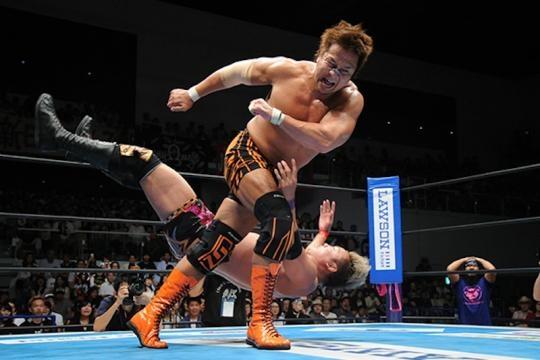 A pesar de tener 0 puntos, Kojima ha dado grandes luchas en el torneo. njpw.co.jp.