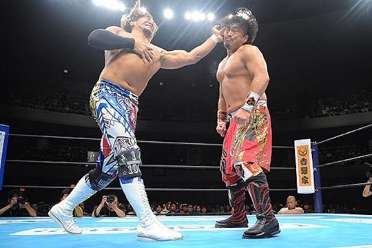 Goto perdió su segunda lucha del torneo. njpw.co.jp