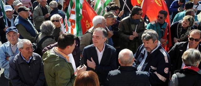 Il Governatore della Toscana, Enrico Rossi