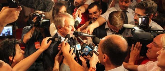 Il leader di Campo Progressista, Giuliano Pisapia