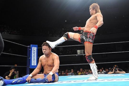Naito llegó a la cima del Grupo A del G1 Climax. njpw.co.jp.