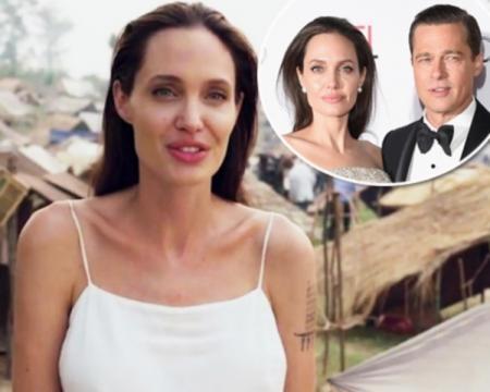 Angelina Jolie sofreu de grave estresse durante o processo de separação com Brad Pitt