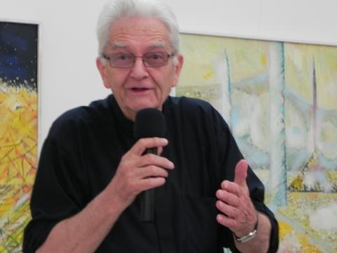 Ksiądz Adam Boniecki w Ostrowcu Świętokrzyskim (fot.K.Krzak)