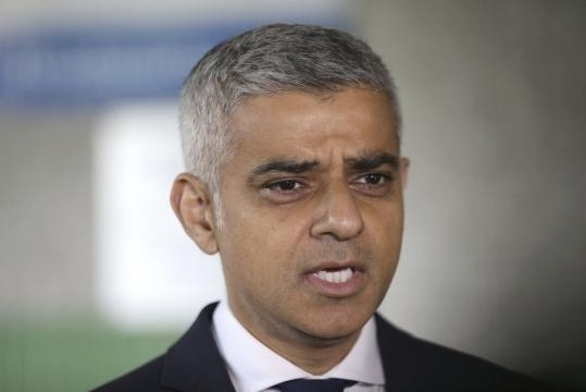 London mayor tells AP he doesn't care about Trump tweets | News OK - newsok.com