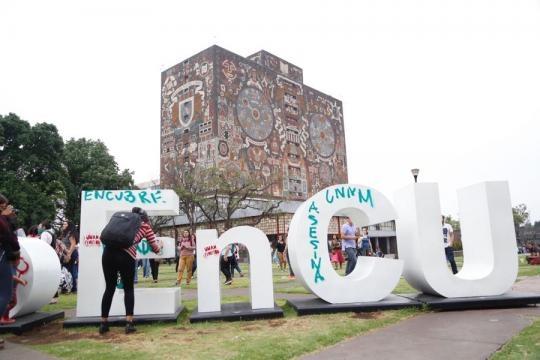 Marcha en la UNAM por feminicidio | Cimac Noticias - com.mx