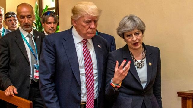 Donals Trump might be planning a visit to Britain.