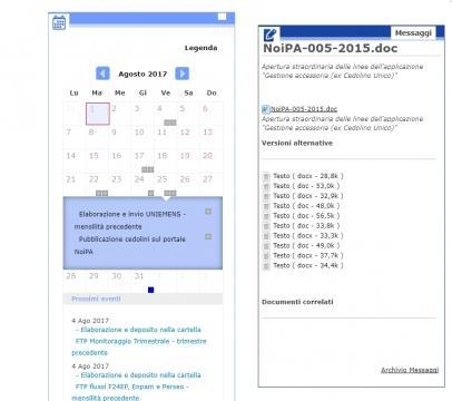 Cedolino NoiPA: la data di pubblicazione diramata dal sito internet istituzionale