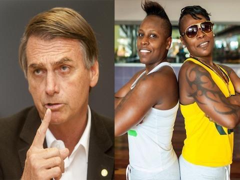 Com apoio de Pêpe e neném Bolsonaro segue campanha (Foto: Reprodução)