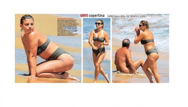 Emma Marrone: curve esplosive a Ibiza.