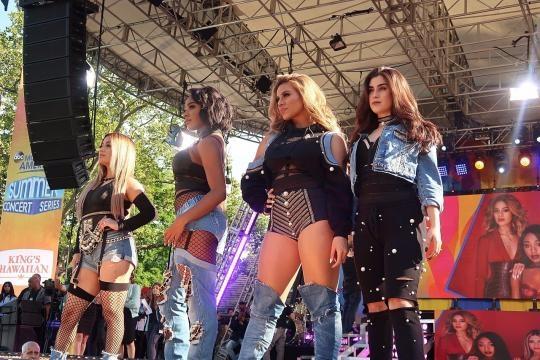 Fifth Harmony on Good Morning America in New York City on June 2, 2017. Photo credit: Natanya Hansen via flickr.