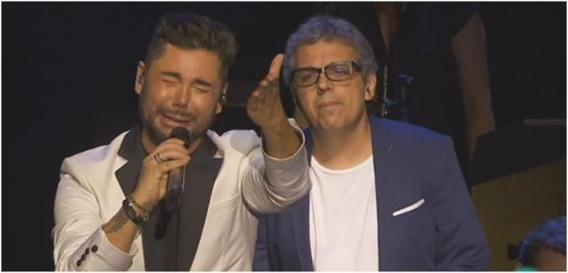 Miguel Poveda y Pedro Guerra cantan a Sabicas