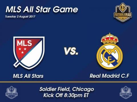 MLS All-Stars vs Real Madrid - Affiche du match (futebolcidade.com)