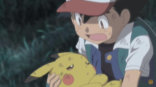 Ash y Píkachu en la Nueva Película