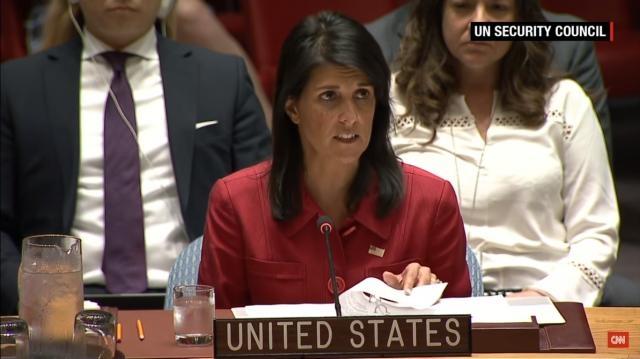 Nikki Haley warns North Korea at UN (Image Credit: CNN/YouTube)